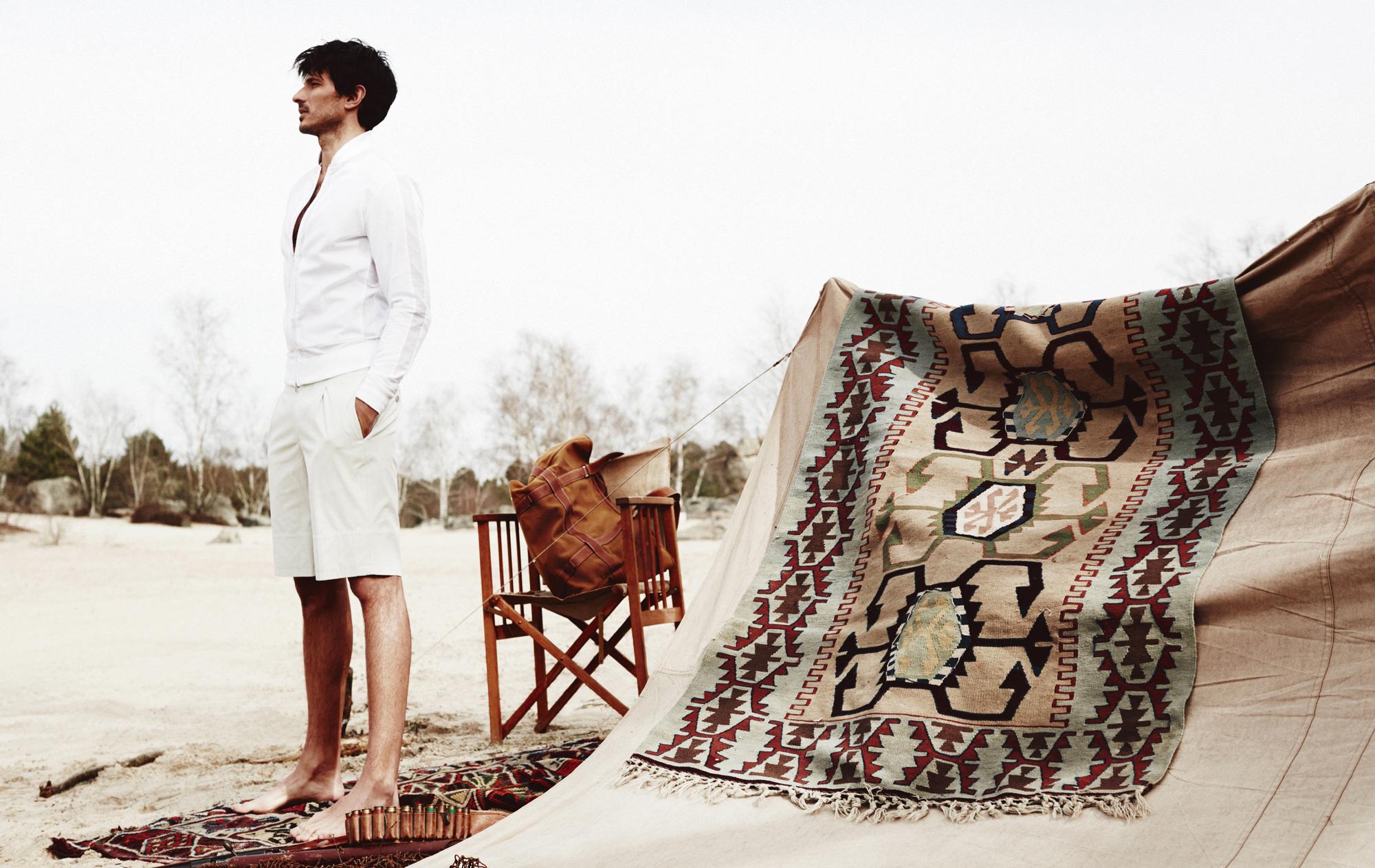 Lily Aldridge Salvatore Ferragamo Spring 2017 Ad Campaign Andres velencoso fashion spot
