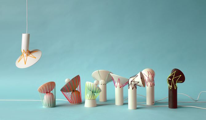 Lampada Origami Di Edward Chew : Design: le lampade in ceramica di marta bordes osso magazine